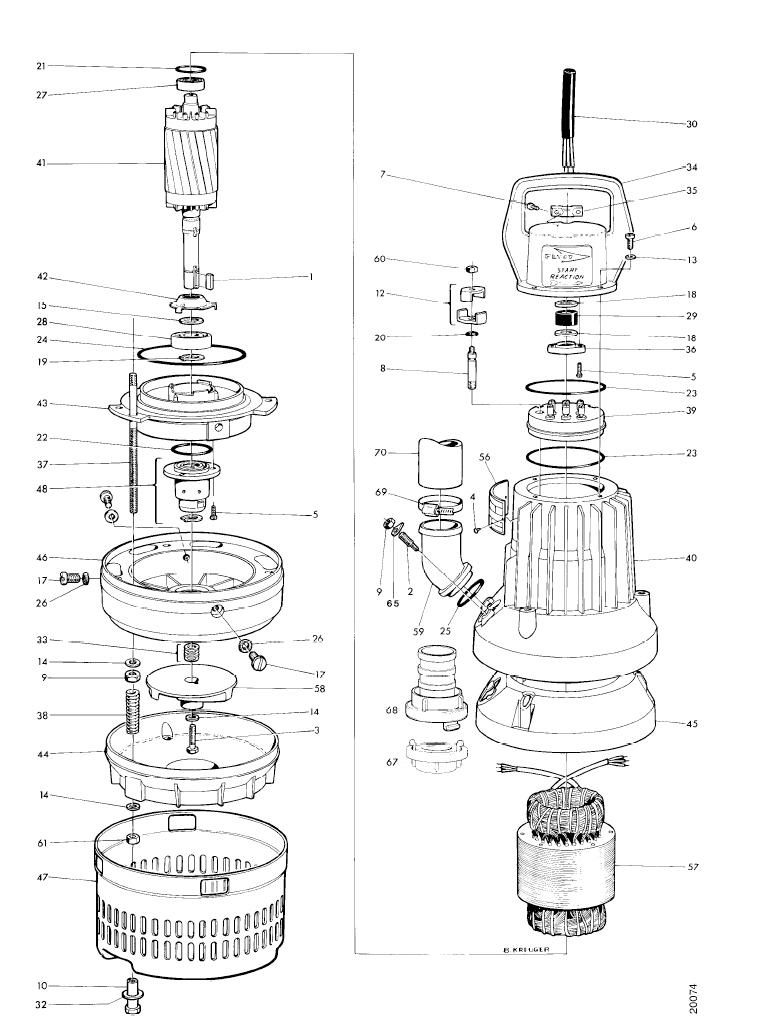 Mississippi Valley Pump, Inc.- Pump Detail, Model 2051