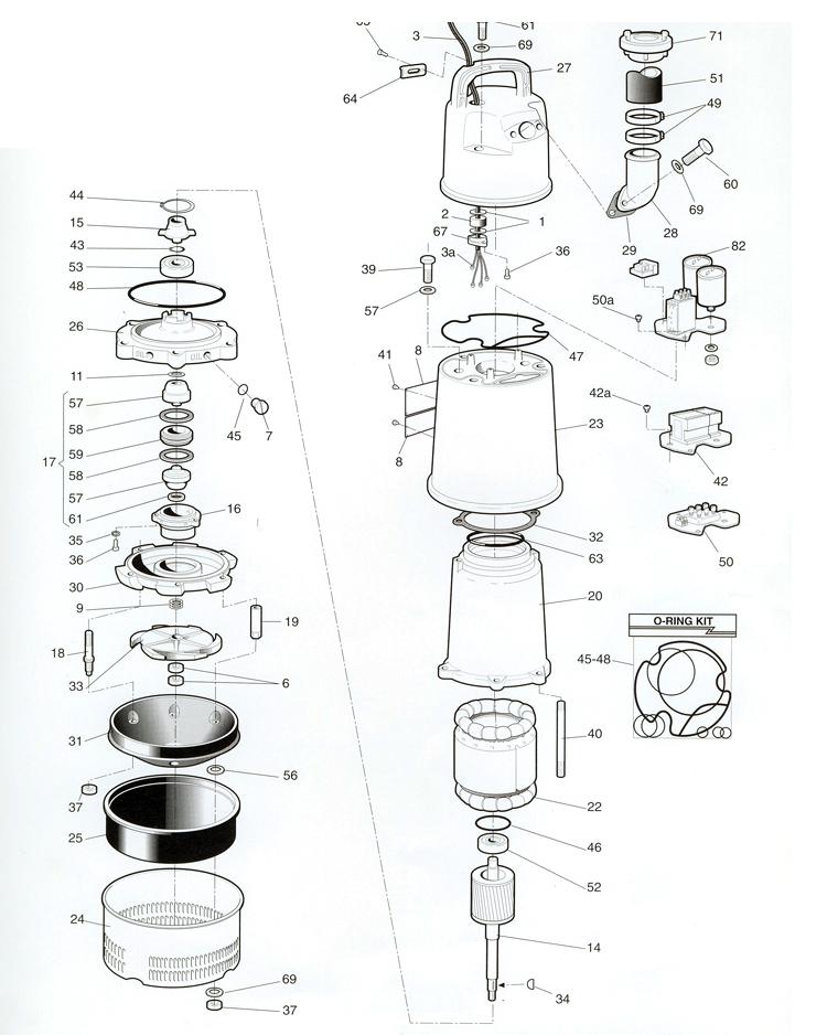 Mississippi Valley Pump, Inc.- Pump Detail, Model 2052