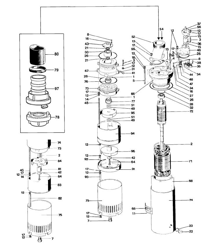 Mississippi Valley Pump, Inc.- Pump Detail, Model 2071