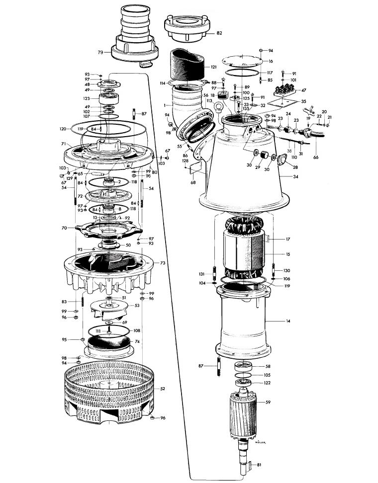 Mississippi Valley Pump, Inc.- Pump Detail, Model 2250_MT