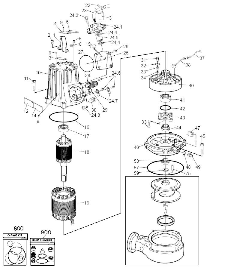 Mississippi Valley Pump, Inc.- Pump Detail, Model 3127_090
