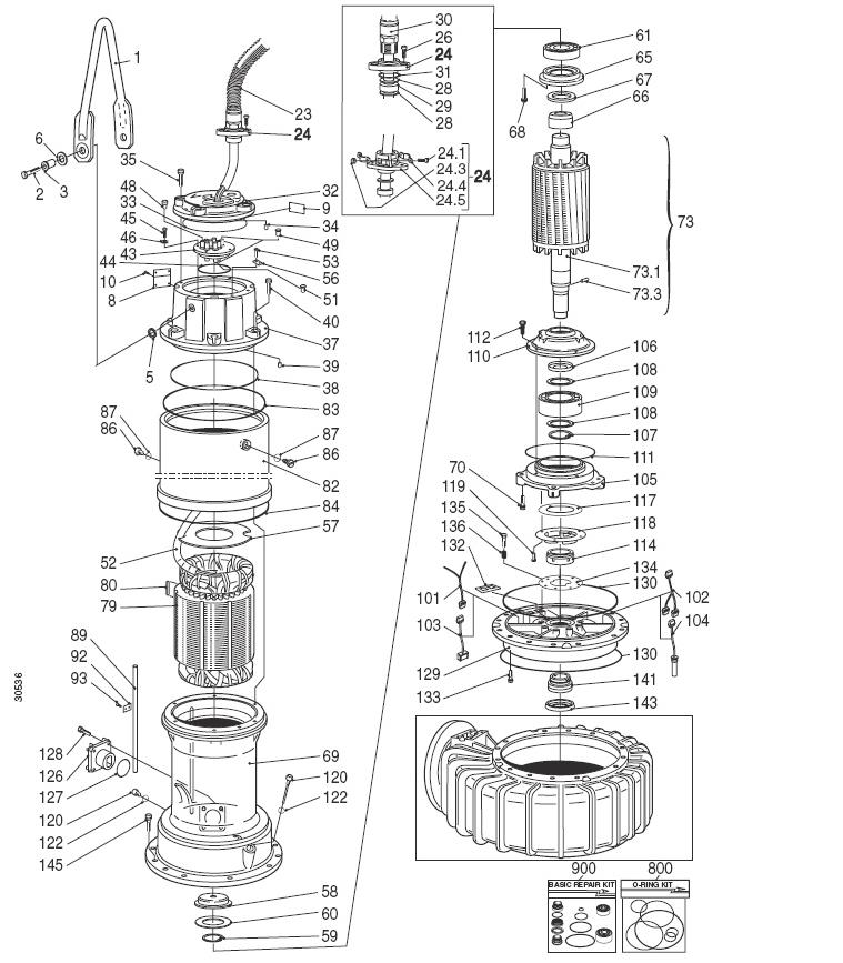 Mississippi Valley Pump, Inc.- Pump Detail, Model 3300_980