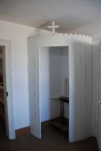 St. Augustine Church interior, confessional