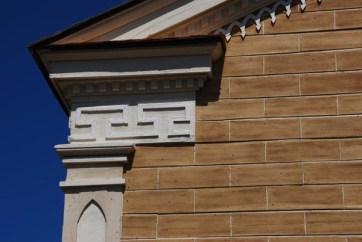 St. Augustine Church exterior detail