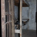 Jail cell in the
