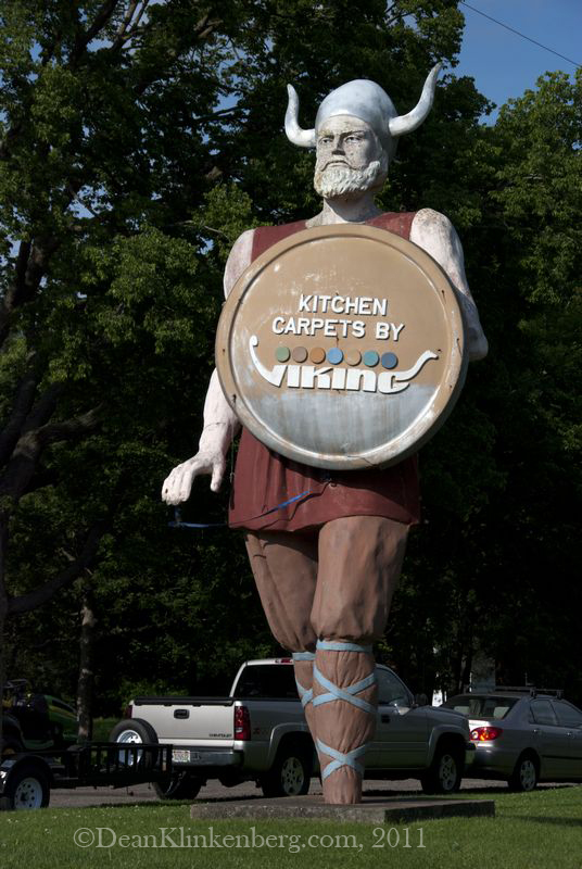 A Viking in Buffalo City, WI