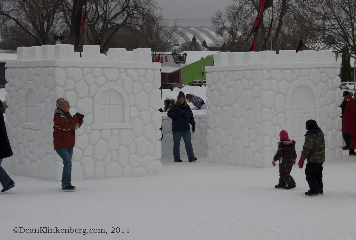 Snow Sculptures at Winter Carnival; St. Paul, MN