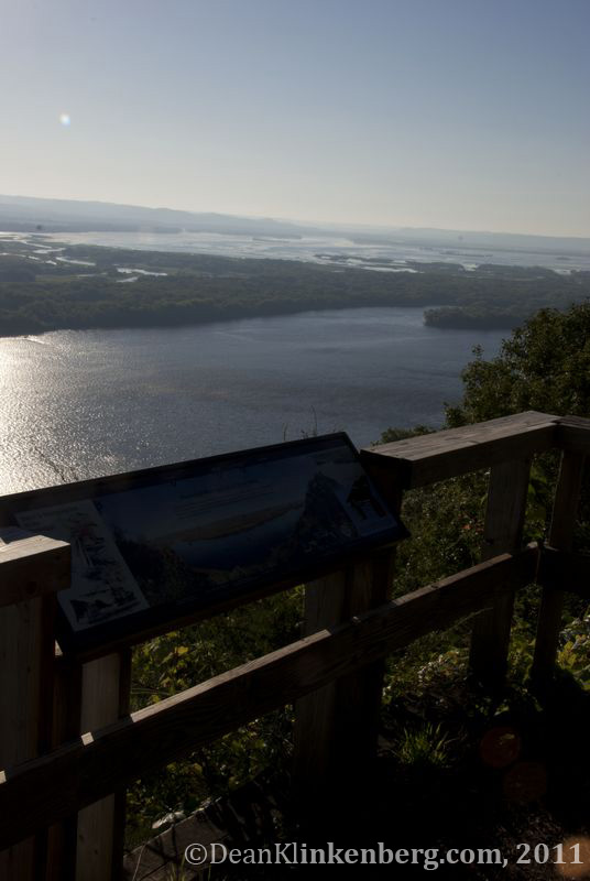 Great River Bluffs State Park (MN) overlook