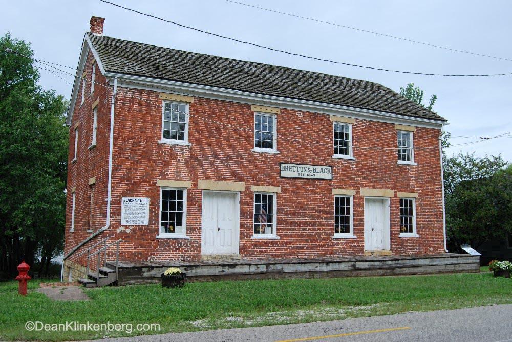 Brettun and Black Historic Site; Hampton, IL