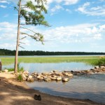 The Mississippi River Headwaters at Lake Itasca, Minnesota