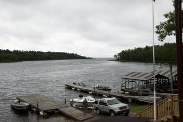 Mississippi River at Lake Winnie inlet