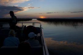Mississippi River at Lake Bemidji outlet