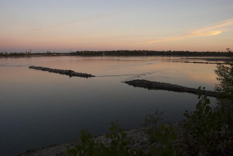 Mississippi River/Missouri River Confluence