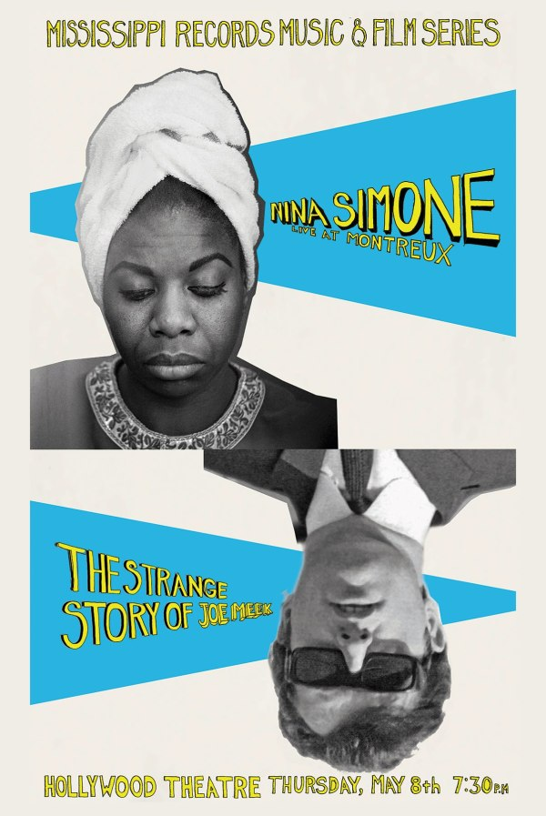 Nina Simone Joe Meek Postcard and Poster