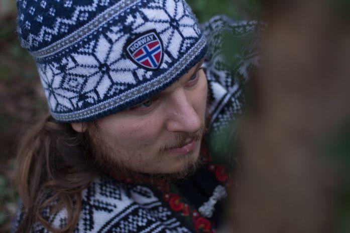 Benjamin Albrycht, forgeron coutelier de la Forge d'Asgeir, artisan normand dans la Manche