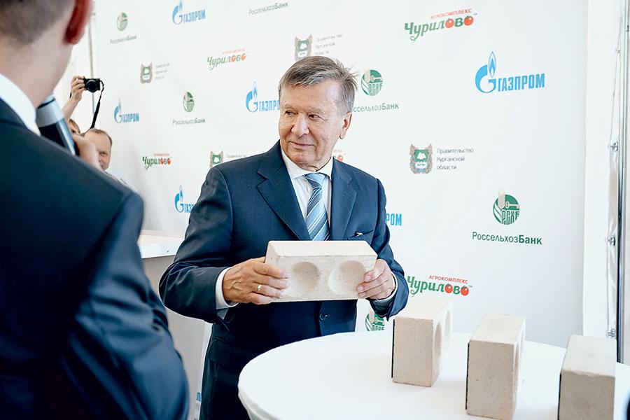 Председатель правления ПАО «Газпром» В.А.Зубков