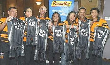Malaysia triathletes andduathletes