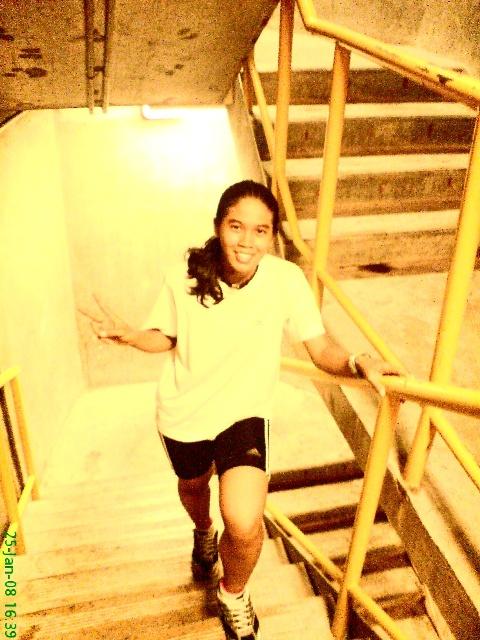 stairs training @ KLTower