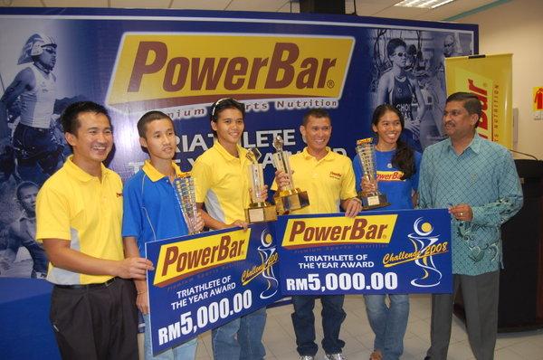 Powerbar Triathlete of the Year Award PC