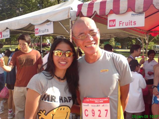 mj and Ngae after GE run 2008