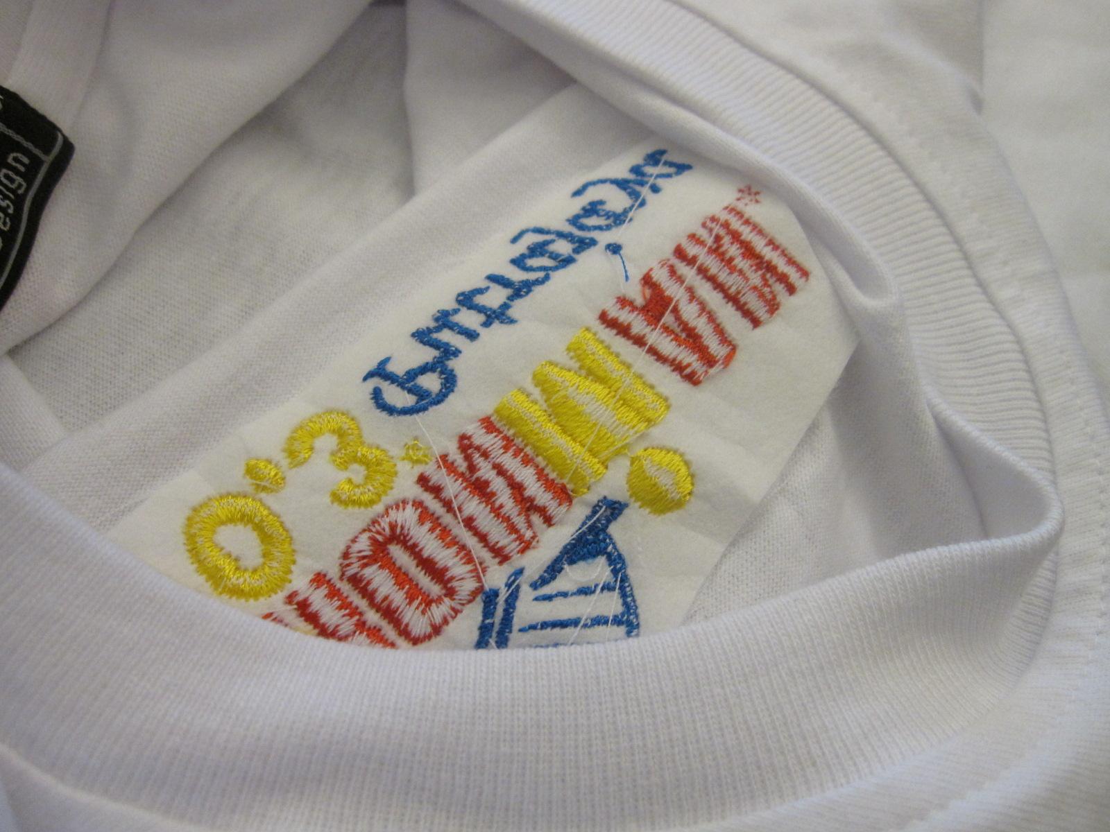 Inside the 70.3 tshirt..ahha..