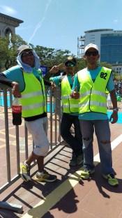 Irwan, Roy and Khai in his ventilated pants