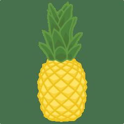 pineapple clipart cricut svg cute silhouette file cut cuts misskatecuttables flamingos explore air party cutting luau