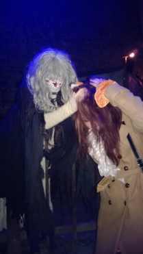 White Lady mischt den Fuchs auf...