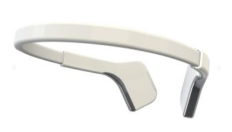 MUSE Stirnband in weiss // Quelle: http://www.interaxon.ca/muse (Hersteller)