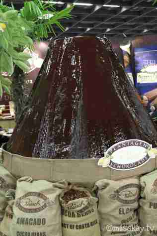 Schokoladenvulkan von Rausch