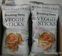 Auf der Süßigkeitenmesse konnte man auch Salziges, wie Chips finden.