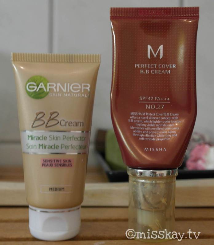 Garnier BB Cream Medium Swatch