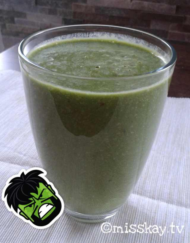Green Smoothie - Hulk approved! :)