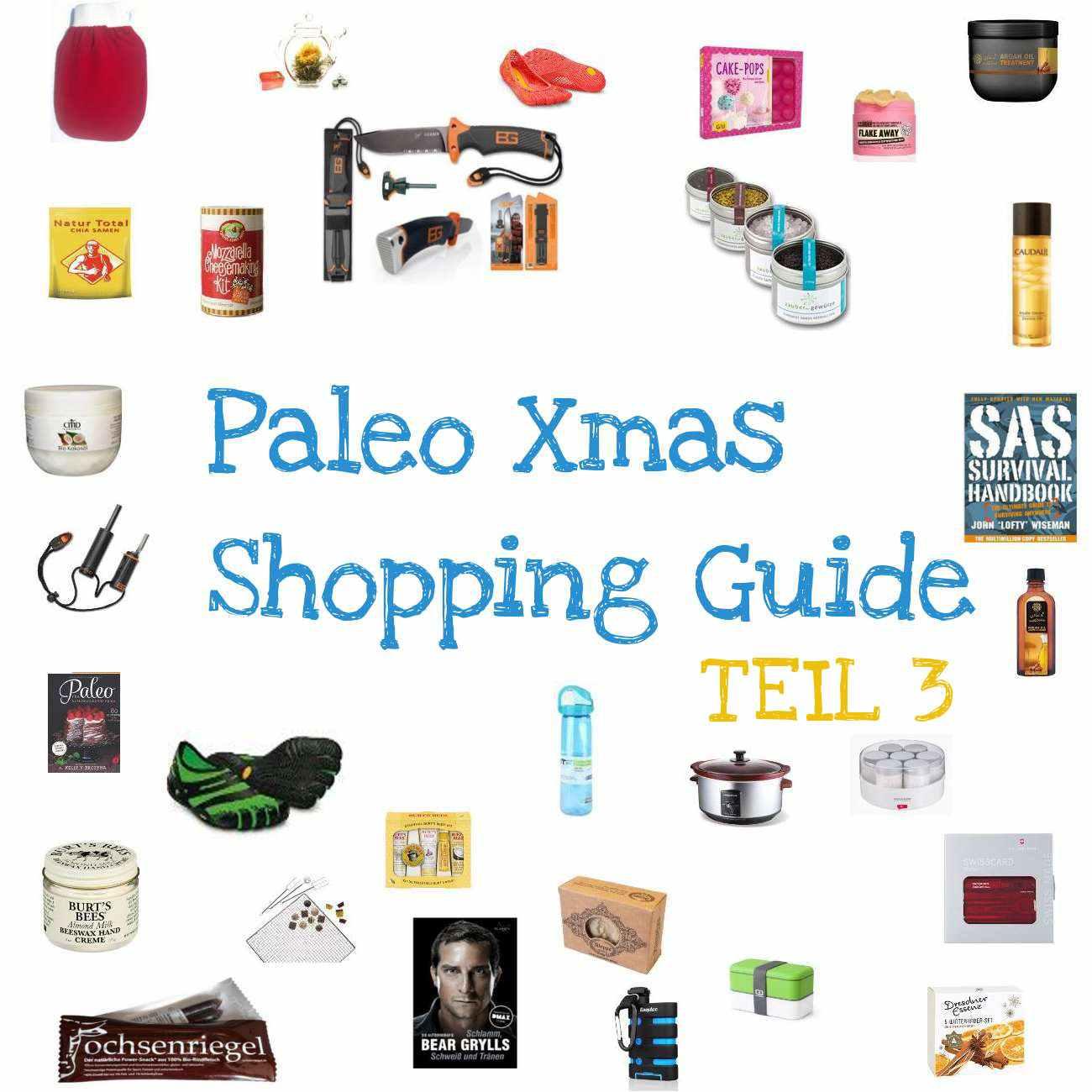Weihnachten: Geschenkideen für deine Paleo Freunde! (TEIL 3 ...