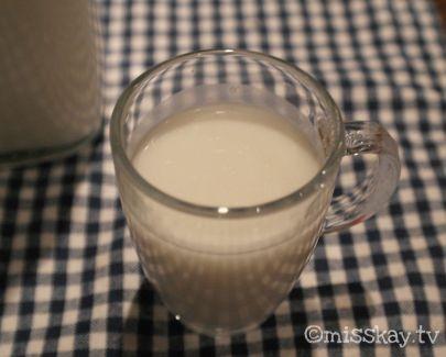 Selbst gemachte Kokosmilch