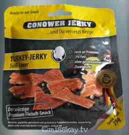 Conower Jerky Turkey Süß Sauer