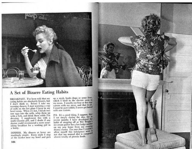 Marilyn Monroe Diät