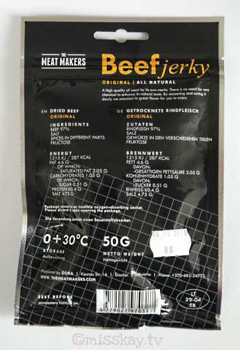 The Meat Makers Beef Jerky