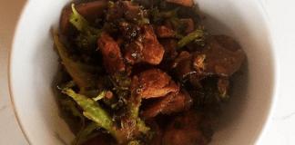 basic chicken broccoli stir fry