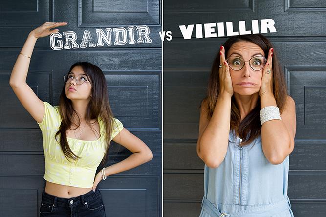 Grandir vs Vieillir