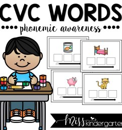 Phonemic Awareness Sound Boxes - Miss Kindergarten [ 1200 x 1200 Pixel ]
