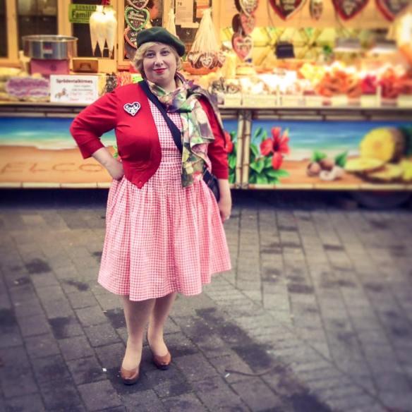 Miss Kittenheel Oktoberfest Craze Fun at the Fair
