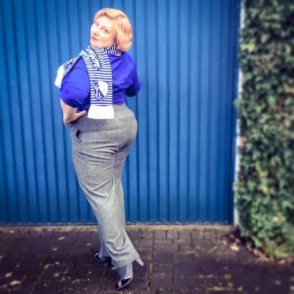misskittenheel vintage curvy plussize studiountold vfl bochum marlene tweed trousers 02
