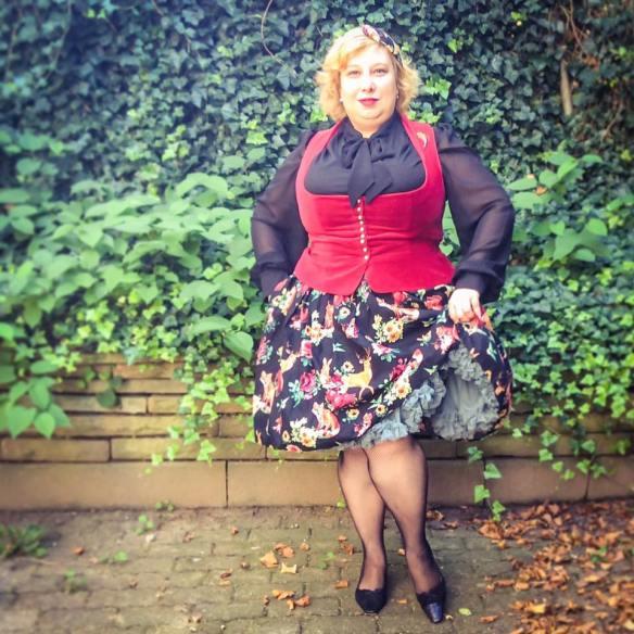 misskittenheel vintage plussize Hellbunny Hermeline Dinrdl Oktoberfest DIYyourCloset 03
