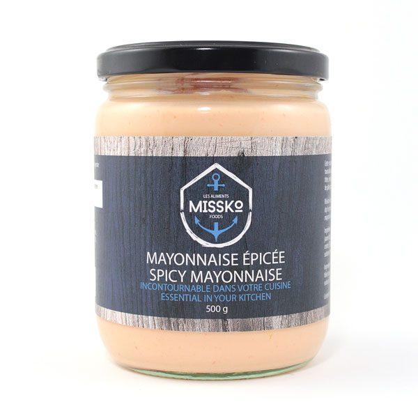 mayonnaise épicée