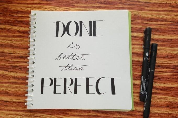 Tipps gegen Perfektionismus