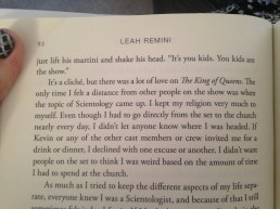 excerpts from Leah Remini's Troublemaker