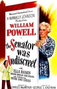 Senator Was Indiscreet