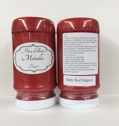 Metallic Paint - Ruby Red Slippers