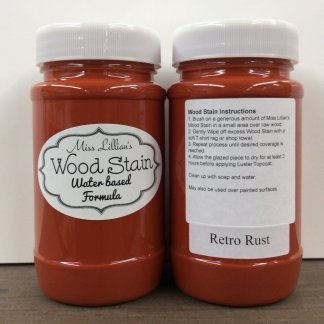 Wood Stain - Retro Rust